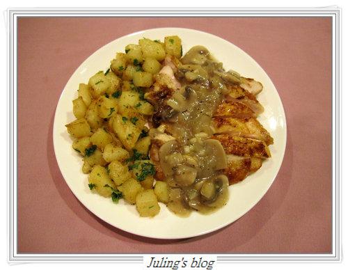 磨菇醬雞排&香煎馬鈴薯15.jpg