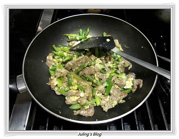 蘆筍炒肉絲蛋做法9.JPG