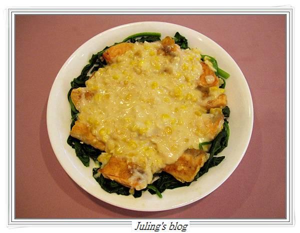 玉米菠菜鮭魚1.JPG