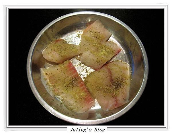 香煎鯛魚佐鳳梨優格做法1.JPG