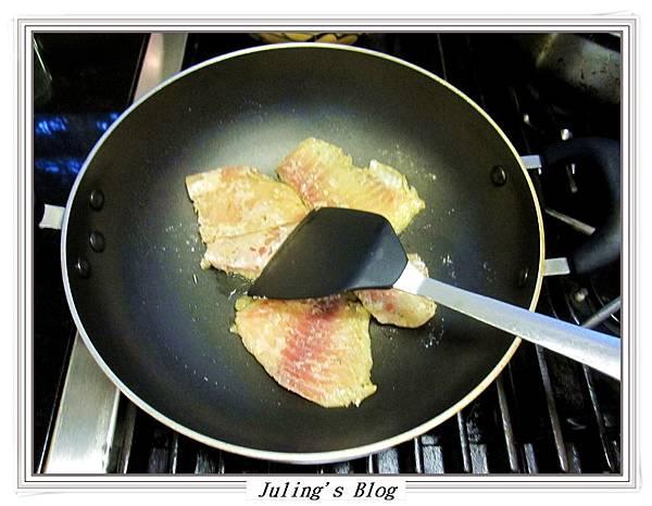 香煎鯛魚佐鳳梨優格做法3.JPG