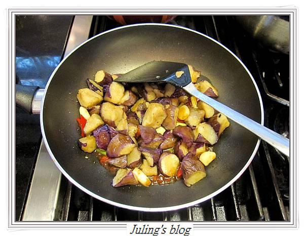 豆瓣醬茄子蝦做法8.JPG