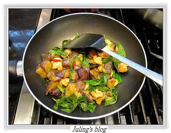 豆瓣醬茄子蝦做法10.JPG