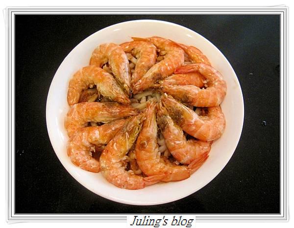 蒜泥蒸蝦做法7.JPG