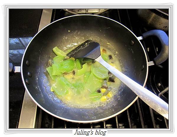 雙蛋芥菜心做法7.JPG