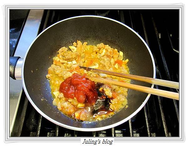 茄汁肉醬荷包蛋做法6.JPG
