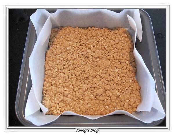 焦糖堅果方塊做法5.JPG