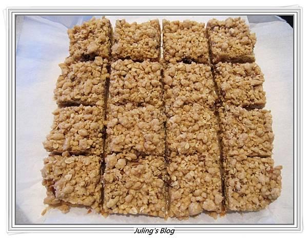 焦糖堅果方塊做法10.JPG