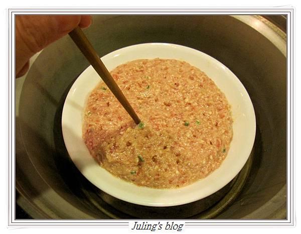 蔥香豆腐蒸肉餅做法4.JPG