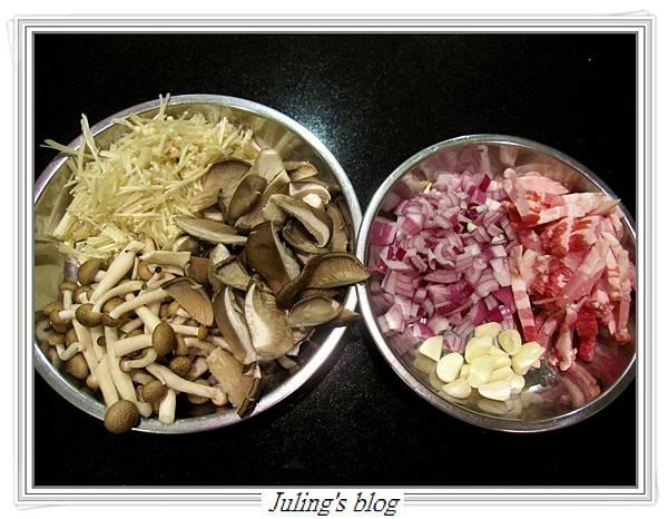 番紅花鮮菇炒飯做法3.JPG