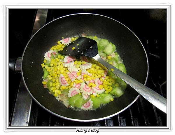 玉米絲瓜做法4.JPG