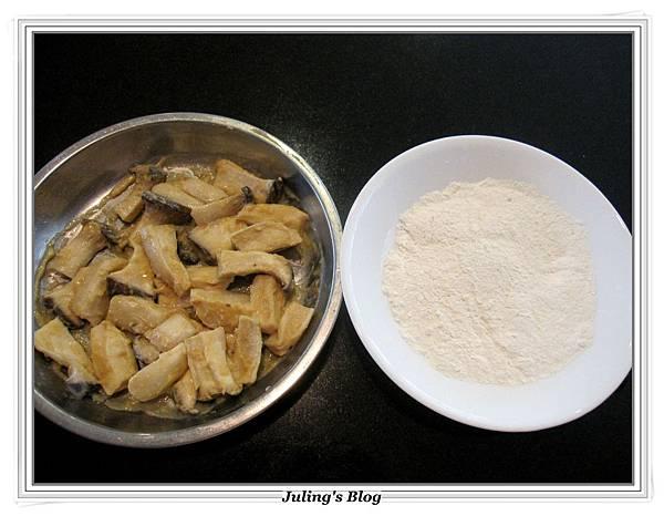 炸味噌杏鮑菇做法4.JPG