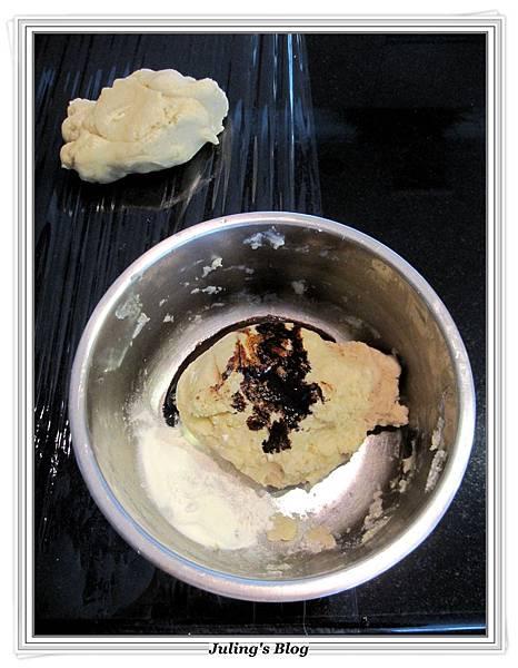 蛋糕預拌粉做雙色義式脆餅做法4.JPG