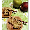 蘋果葡萄乾乳酪方塊3.JPG