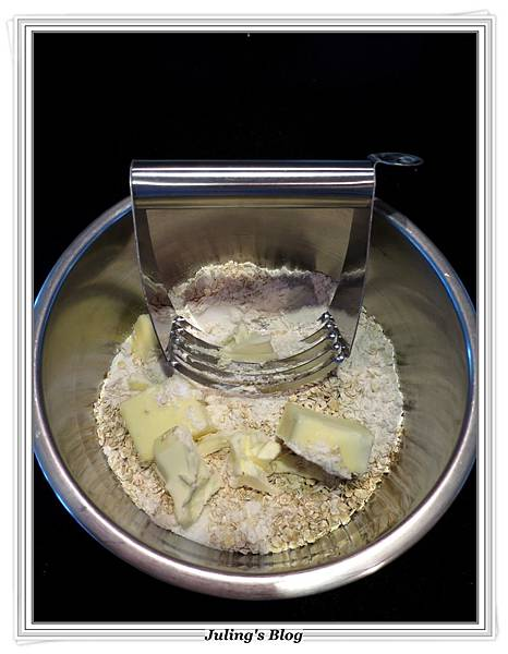 蘋果葡萄乾乳酪方塊做法1.JPG