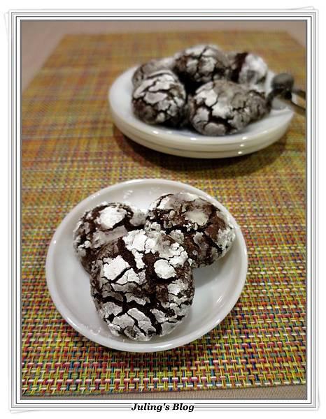 巧克力裂紋餅乾3.JPG