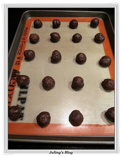 巧克力裂紋餅乾做法7.JPG