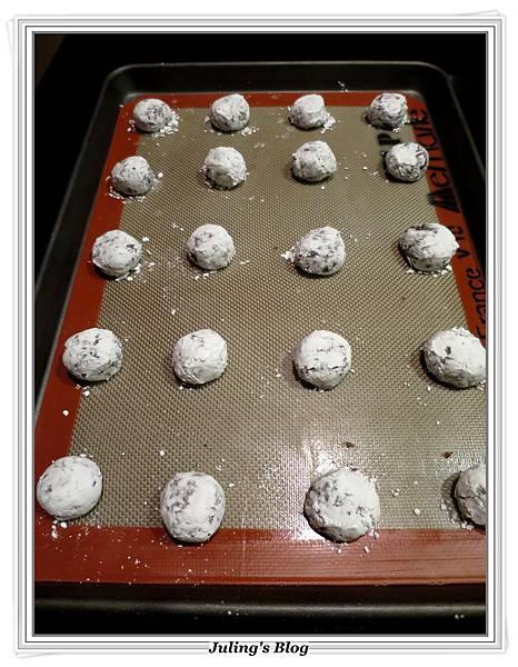 巧克力裂紋餅乾做法8.JPG