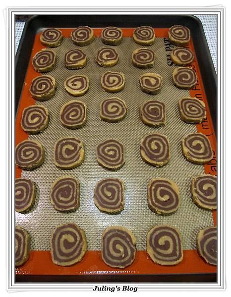 花生巧克力雙色酥做法13.JPG