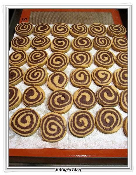 花生巧克力雙色酥做法16.JPG