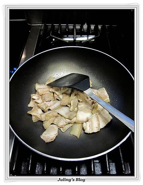 花菜回鍋肉做法5.JPG