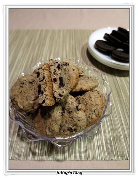 cookies'n cream餅乾1.JPG