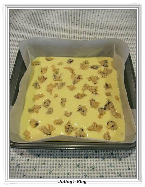 巧克力豆乳酪方塊做法9.JPG