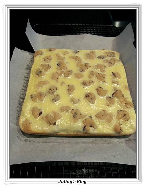 巧克力豆乳酪方塊做法11.JPG