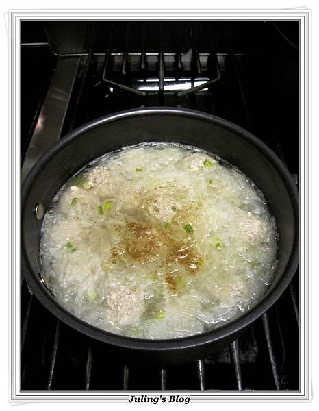 蘿蔔豆腐丸子湯做法6.JPG