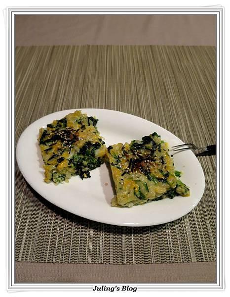 烤菠菜起司米餅1.JPG