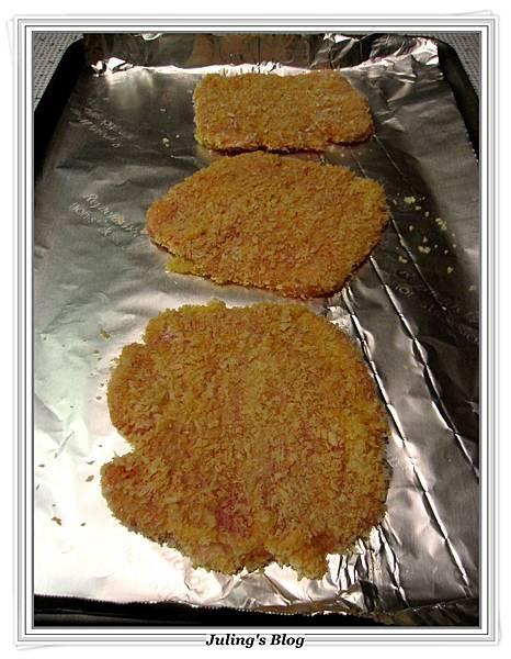 用烤箱做炸豬排做法9.JPG