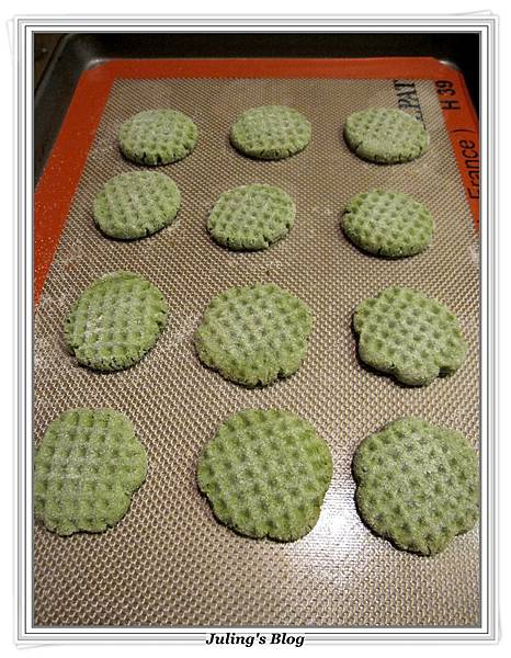 抹茶餅乾做法8.JPG