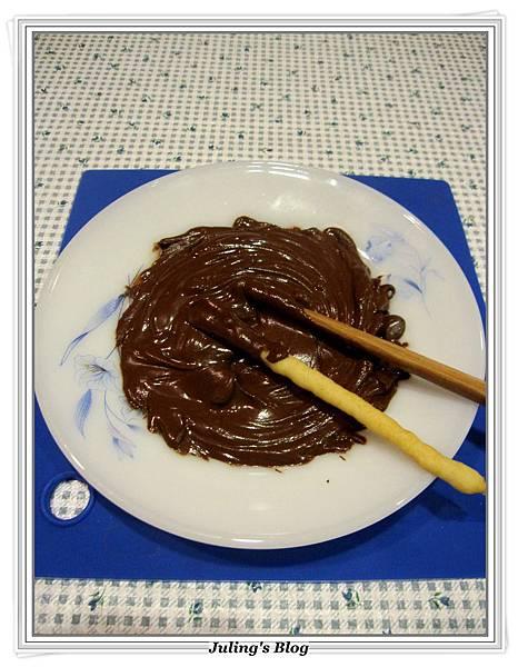 巧克力餅乾棒做法11.JPG