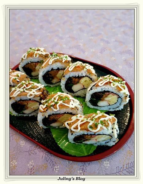 醋薑燻鮭魚壽司3.JPG