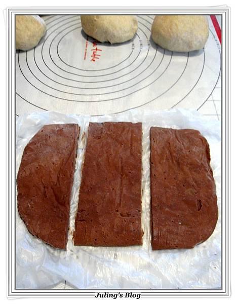 大理石巧克力麵包做法15.JPG