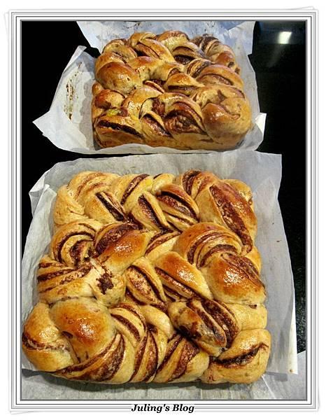大理石巧克力麵包做法24.JPG