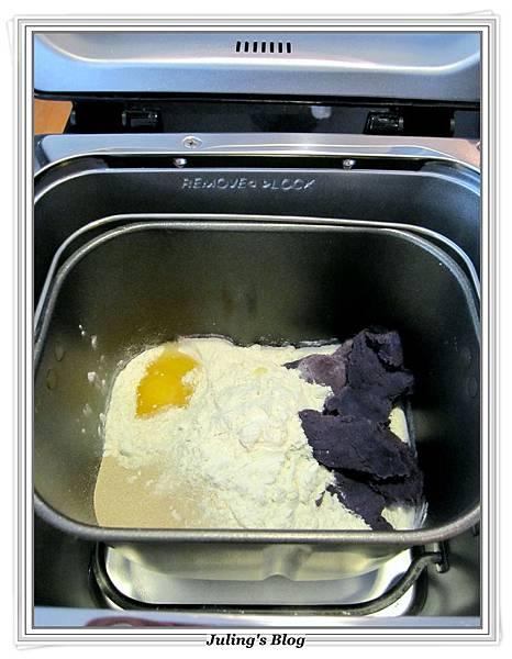 花形紫薯麵包做法1.JPG