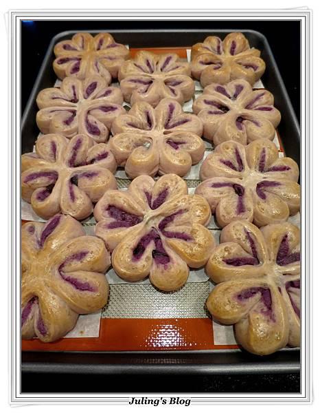 花形紫薯麵包做法16.JPG