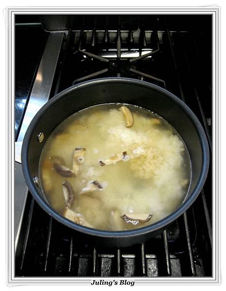 山藥香菇肉粥做法3.JPG