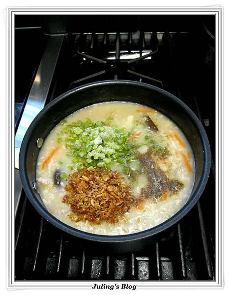 山藥香菇肉粥做法6.JPG