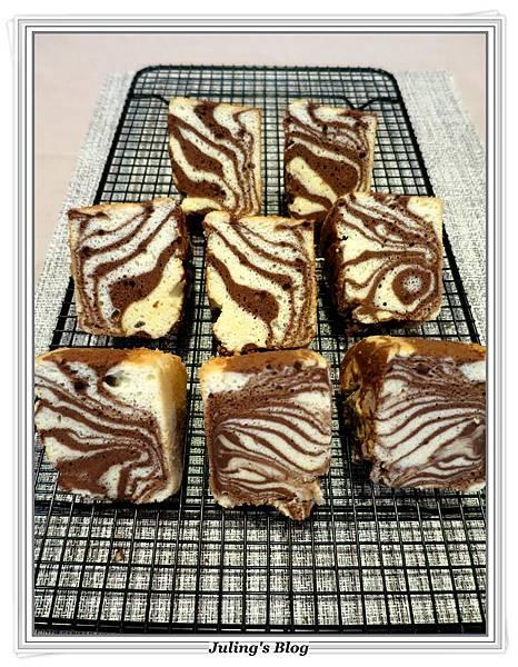 斑馬紋戚風蛋糕1.JPG