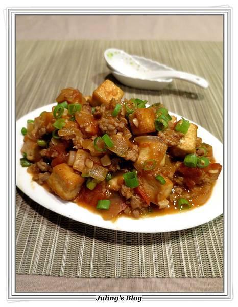 肉末蕃茄燒豆腐2.JPG