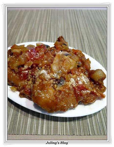 蘑菇茄醬豬排3.JPG