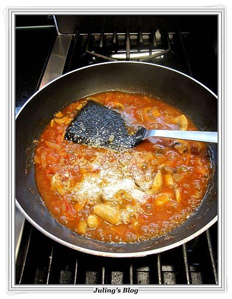 蘑菇茄醬豬排做法8.JPG