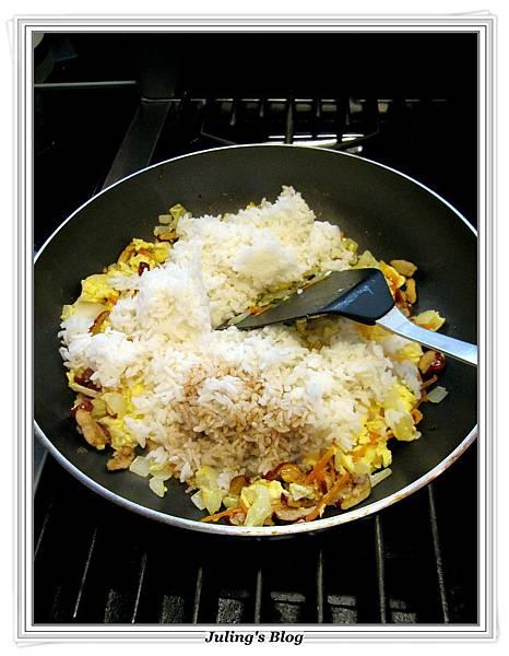 紅棗炒飯做法5.JPG