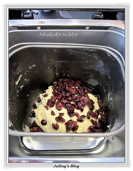 蛋黃蔓越莓土司做法3.JPG