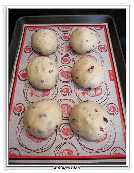 蛋黃蔓越莓土司做法7.JPG