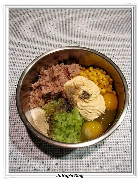 起司鮪魚餅做法2.JPG