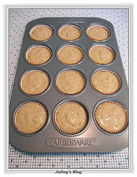 Nutella Banana Muffins做法10.JPG
