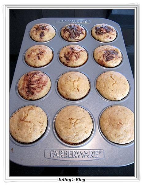 Nutella Banana Muffins做法14.JPG